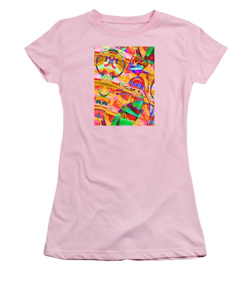 Pattern 316 _ Free Form Women's T-Shirt (Athletic Fit)