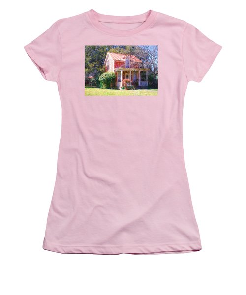 Peach Tree Bed And Breakfast2 Women's T-Shirt (Athletic Fit)