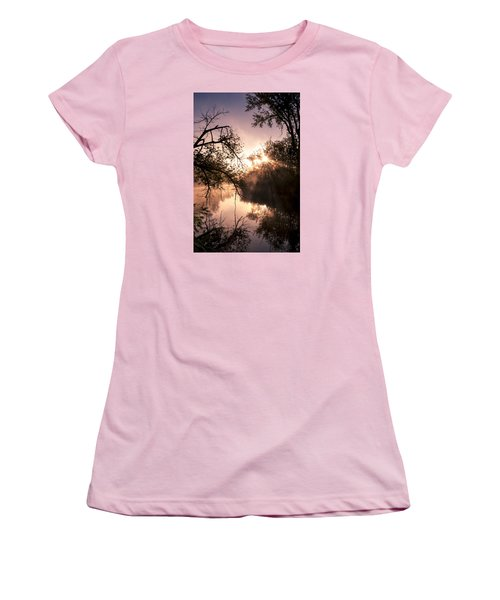 Perfect Reflections Women's T-Shirt (Junior Cut) by Annette Berglund