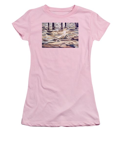 Pier At Granthams Landing Women's T-Shirt (Athletic Fit)