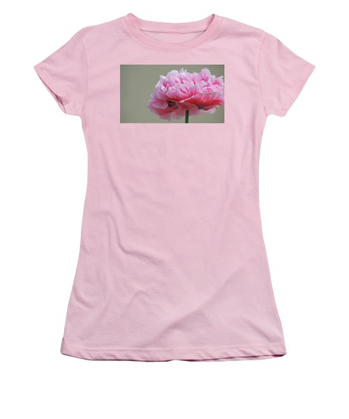 Pink Poppy Women's T-Shirt (Athletic Fit)