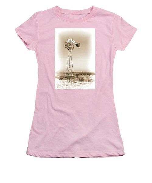 Prairie Guardian Women's T-Shirt (Junior Cut) by Sylvia Thornton