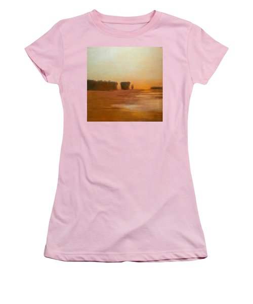 Preston After Spring Rain Creek Flood Women's T-Shirt (Athletic Fit)