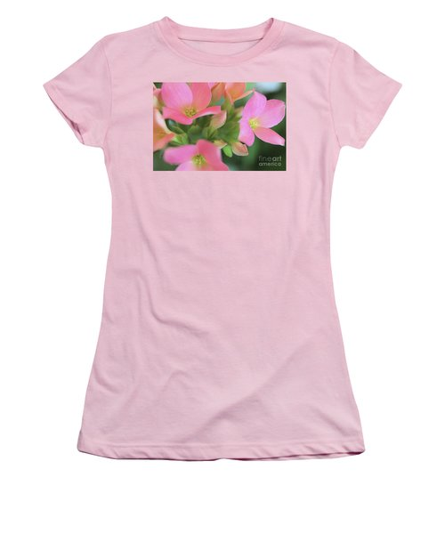 Pretty In Pink Women's T-Shirt (Junior Cut) by Victor K
