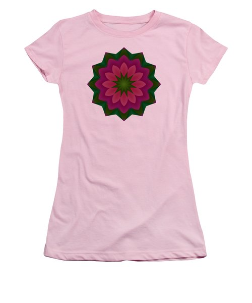 Pretty Pink Petals Women's T-Shirt (Athletic Fit)