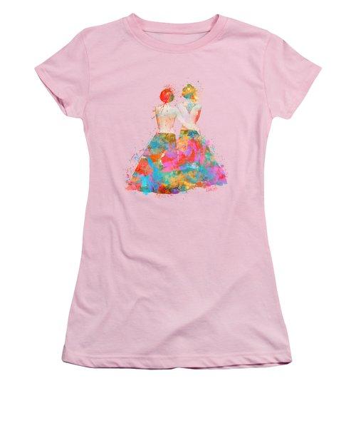 Pride Not Prejudice Women's T-Shirt (Athletic Fit)