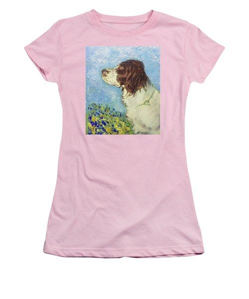 Proud Spaniel Women's T-Shirt (Athletic Fit)