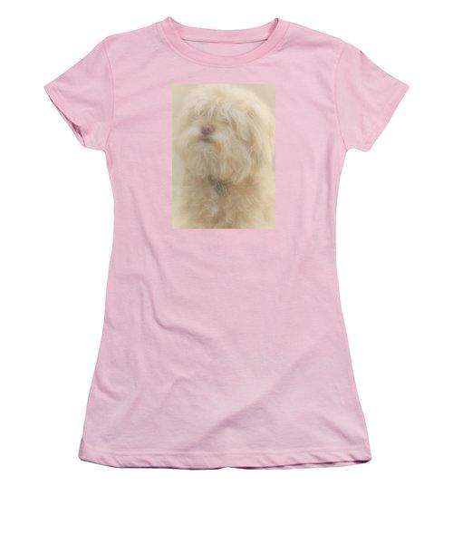 Puff Puff Women's T-Shirt (Junior Cut) by The Art Of Marilyn Ridoutt-Greene