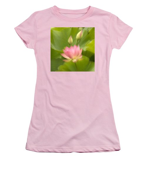 Women's T-Shirt (Athletic Fit) featuring the photograph Purity Reborn by John Poon
