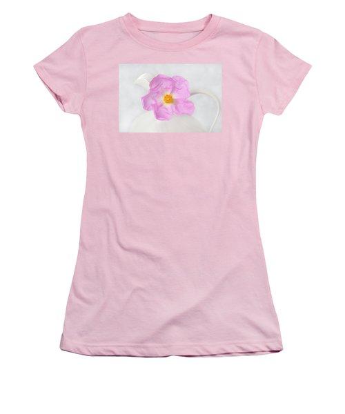 Purple Bloom Women's T-Shirt (Athletic Fit)