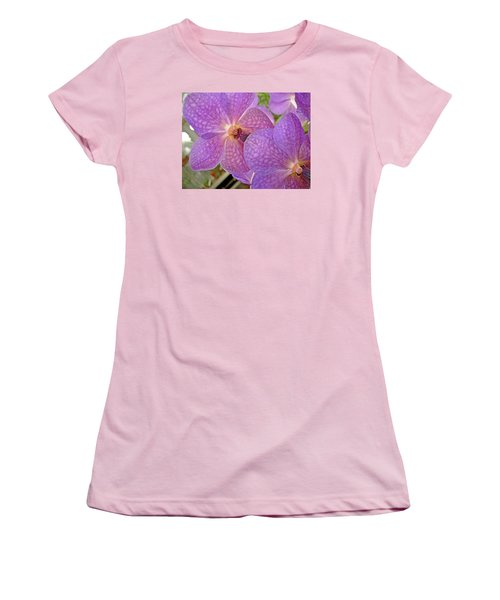 Women's T-Shirt (Athletic Fit) featuring the photograph Quiet Grace 2 by Lynda Lehmann