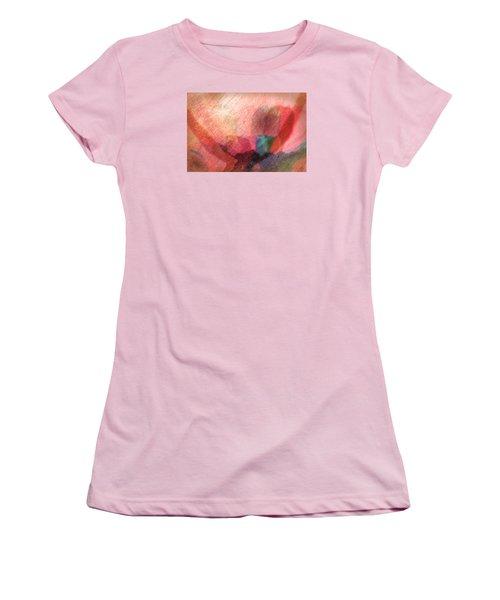 Rainbow Shadows Women's T-Shirt (Athletic Fit)