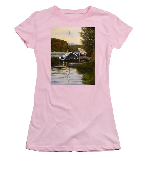 Reflections Of Summer Women's T-Shirt (Athletic Fit)