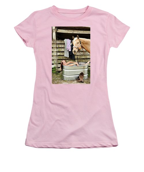 Relaxing Women's T-Shirt (Athletic Fit)