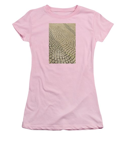 Women's T-Shirt (Athletic Fit) featuring the photograph Repetitions by Wanda Krack