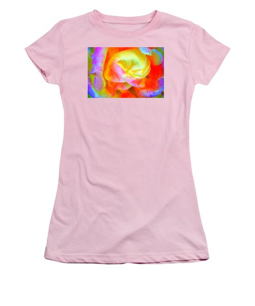 Roses 3 Women's T-Shirt (Athletic Fit)