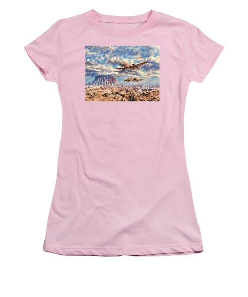 Rough Terrain Women's T-Shirt (Athletic Fit)