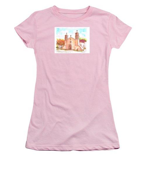 San Miguel Catholic Church, Socorro, New Mexico Women's T-Shirt (Junior Cut) by Carlos G Groppa