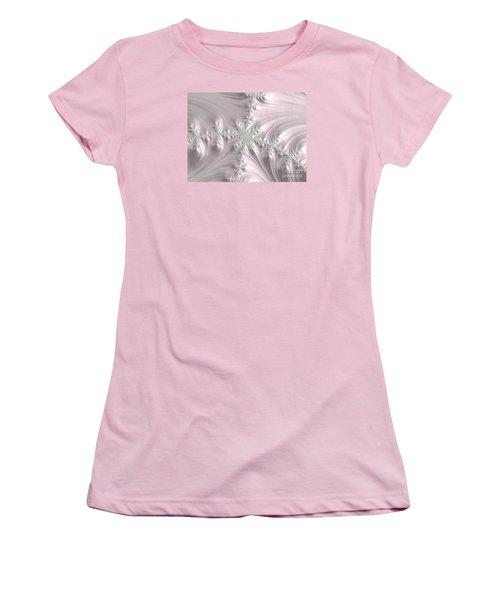 Satin Women's T-Shirt (Junior Cut) by Elaine Teague