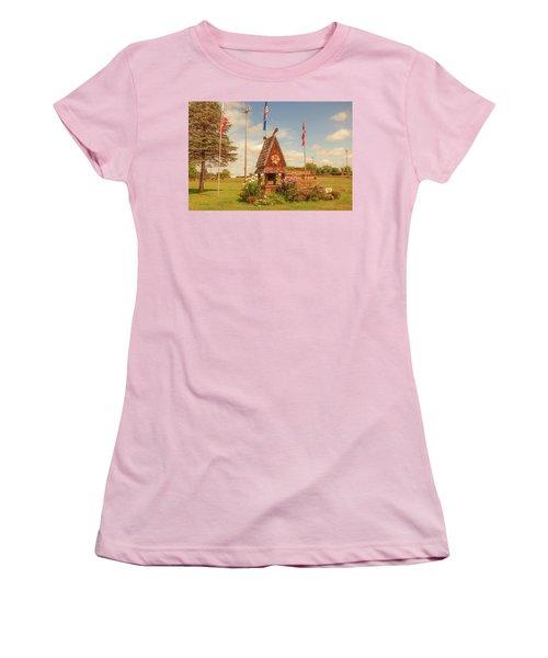 Scandy Memorial Park Women's T-Shirt (Junior Cut) by Trey Foerster