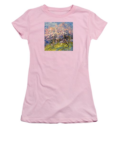 Scented Blooms Women's T-Shirt (Athletic Fit)