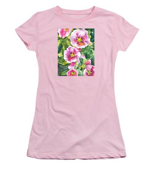 Secret Garden Women's T-Shirt (Junior Cut) by Casey Rasmussen White