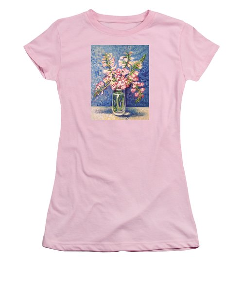 September Snaps Women's T-Shirt (Junior Cut) by Laura Aceto