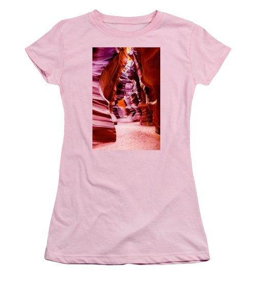 Serene Light Women's T-Shirt (Junior Cut) by M G Whittingham