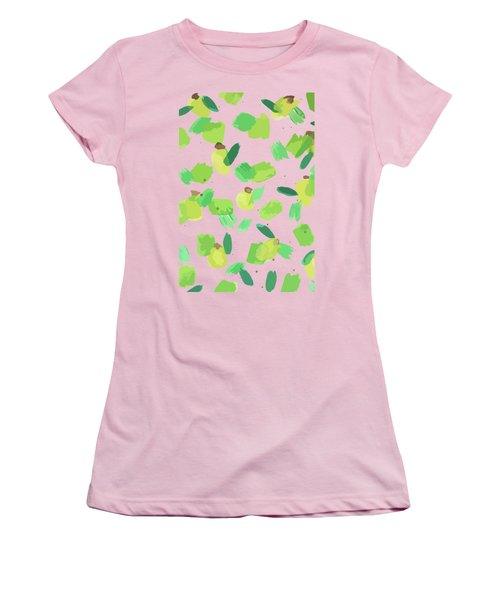 Series Pink 007 Women's T-Shirt (Athletic Fit)