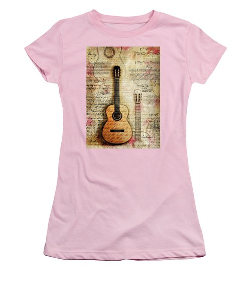 Six String Sages Women's T-Shirt (Athletic Fit)