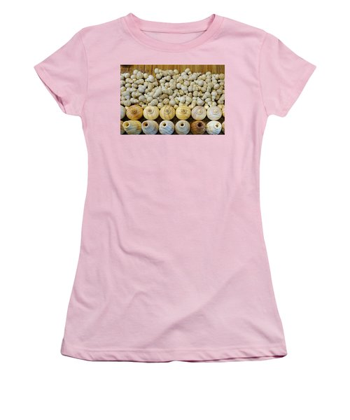 Small Wooden Flasks Women's T-Shirt (Junior Cut) by Yali Shi