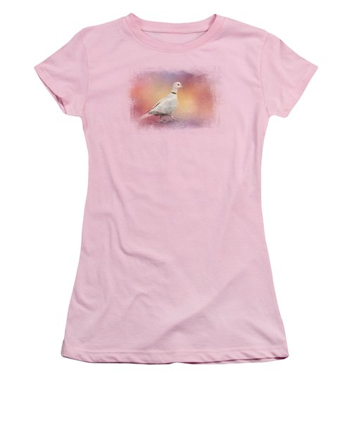 Spring Eurasian Collared Dove Women's T-Shirt (Athletic Fit)