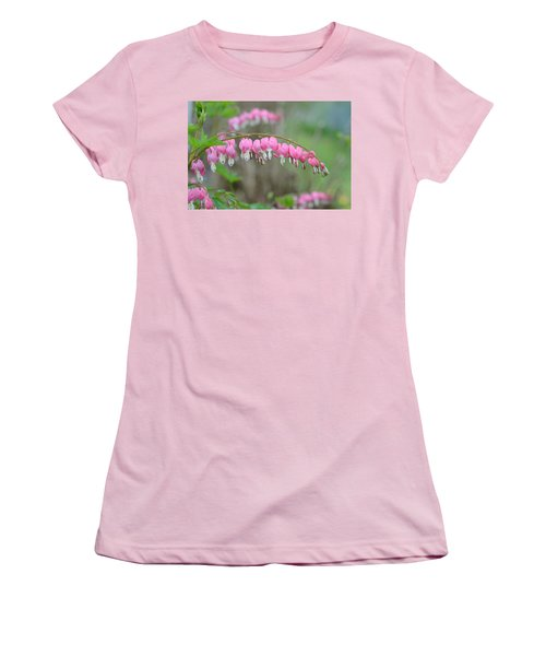 Spring Hearts Women's T-Shirt (Athletic Fit)