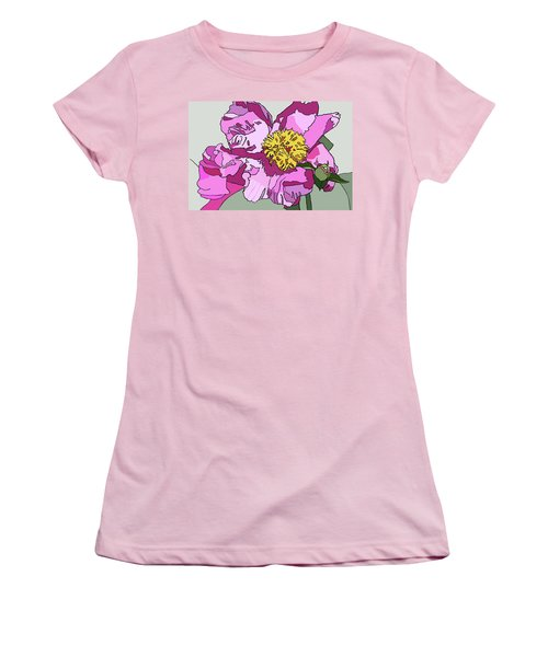Spring Pink Women's T-Shirt (Junior Cut) by Jamie Downs