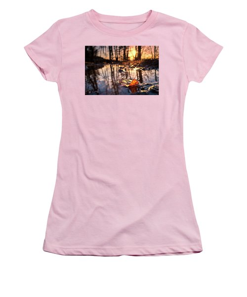 Spring Puddles Women's T-Shirt (Junior Cut) by Craig Szymanski