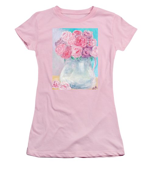 Study  Women's T-Shirt (Junior Cut) by Reina Resto