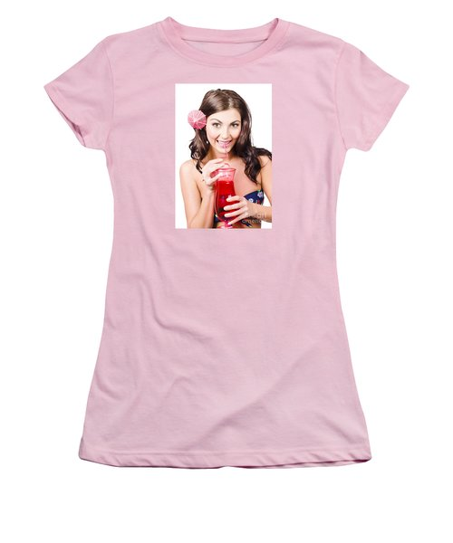 Summer Holidays Women's T-Shirt (Athletic Fit)