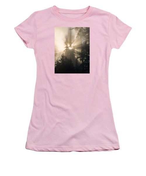 Sunlight And Fog Women's T-Shirt (Athletic Fit)