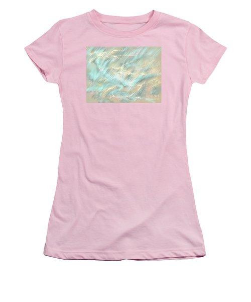 Sunlight On Water Women's T-Shirt (Junior Cut) by Amyla Silverflame