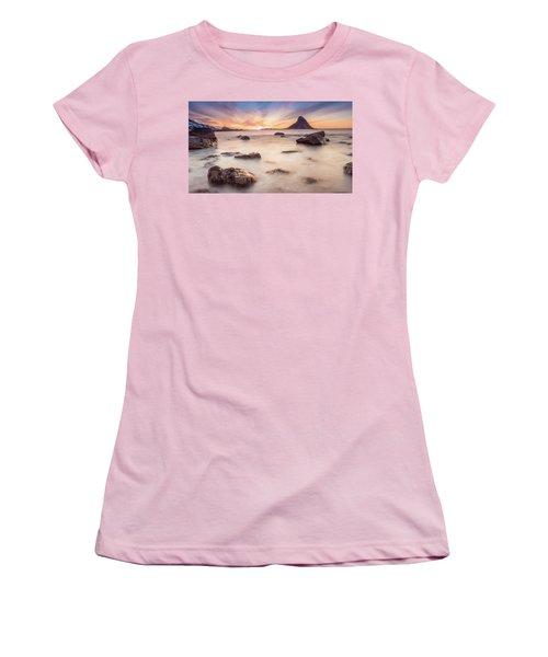 Sunset At Bleik Women's T-Shirt (Athletic Fit)
