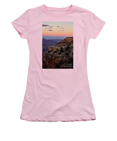Sunset At The Grand Canyon Women's T-Shirt (Athletic Fit)