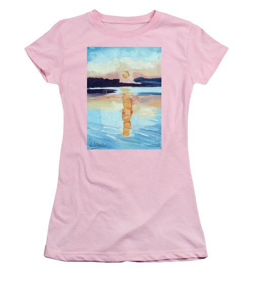 Sunset On Vancouver Island Women's T-Shirt (Athletic Fit)