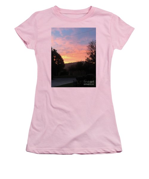 Sunshine Without The Fog Women's T-Shirt (Athletic Fit)