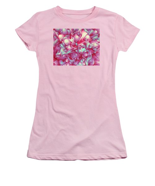 Sweet Flowers 2 Women's T-Shirt (Junior Cut) by Moustafa Al Hatter