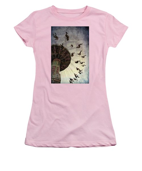 Women's T-Shirt (Junior Cut) featuring the photograph Swirling.... by Russell Styles