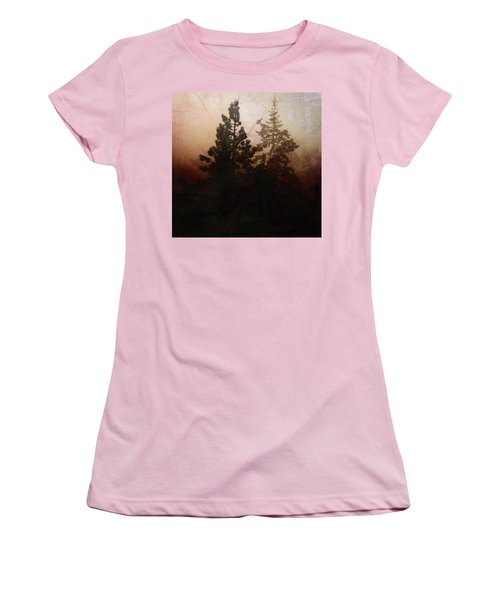 Tahoe Pines Women's T-Shirt (Athletic Fit)