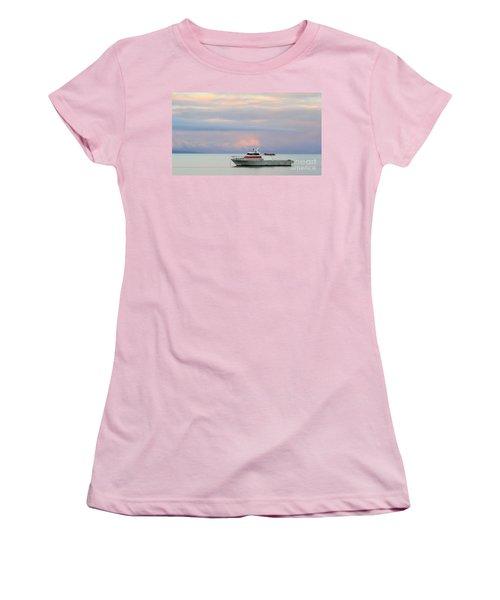Women's T-Shirt (Junior Cut) featuring the photograph Tasha's Choice by Stephen Mitchell