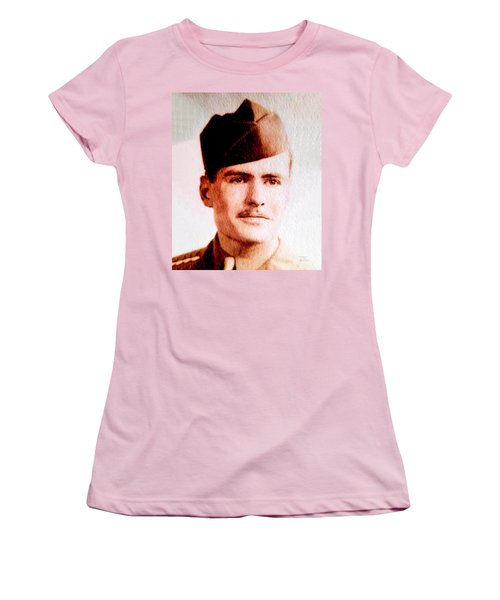 Tawson Clare Wall Avon Wwii Hero Women's T-Shirt (Athletic Fit)