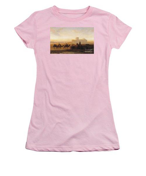 The Caravan Women's T-Shirt (Athletic Fit)