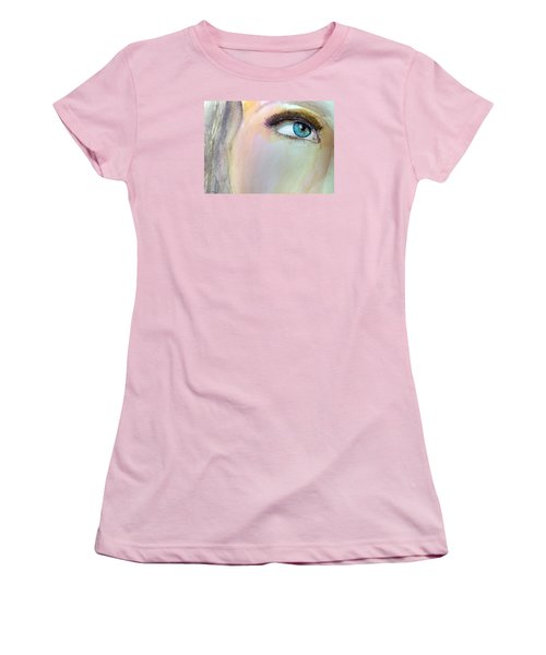 The Eyes Have It Women's T-Shirt (Junior Cut) by Ed  Heaton